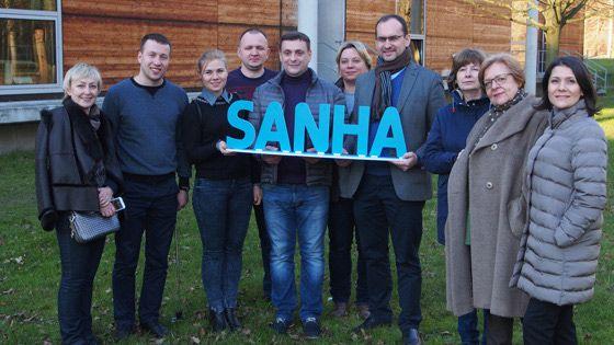 Поездка на завод SANHA, в Германию