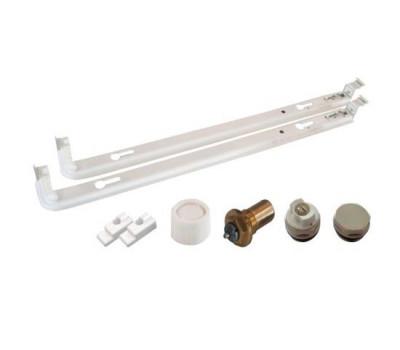 Монтажный комплект  h=600 мм для нижнего подключения радиатора