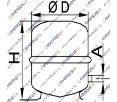 Мембранный расширительный бак N 35 (9572212)