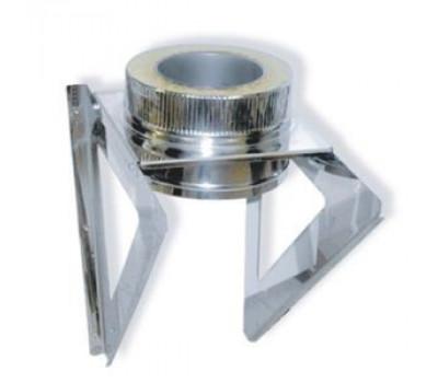 Кронштейн опоры 600х600 d=100 мм.