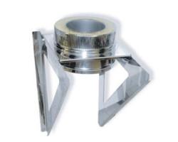 Кронштейн опоры 600х600 d=120 мм.