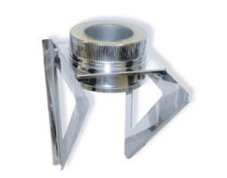 Кронштейн опоры 600х600 d=130 мм.