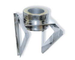 Кронштейн опоры 600х600 d=200 мм.