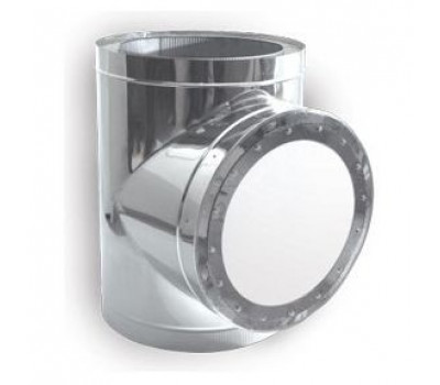Тройник-взрывной клапан  90° d=100