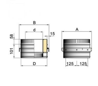 опора d=150 мм.