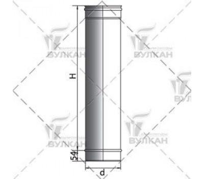 Труба  L = 1000 мм d=100 мм.