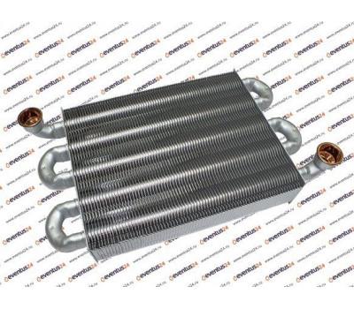 Первичный теплообменник 24квт L=225 алюминий (65115065)