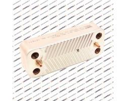 Теплообменник ГВС HR 16 пластин 192 x 142 (65104333)