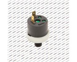 Реле давления воды, прессостат 1/4 KSY-C12 (универсальный, пластиковый штуцер, 2 контакта) (9951690)