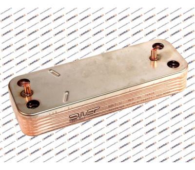 Теплообменник ГВС HR 10 пластин 207 x 156 (5686660)