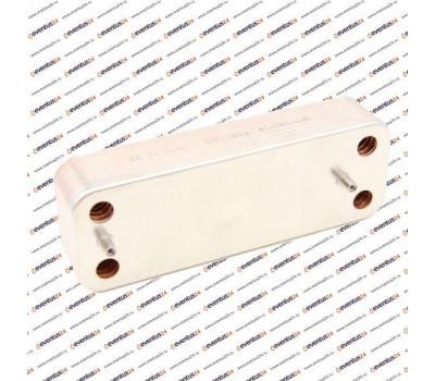 Теплообменник ГВС Zilmet 2071400 - 14 пластин 207 x 156 (5686680)
