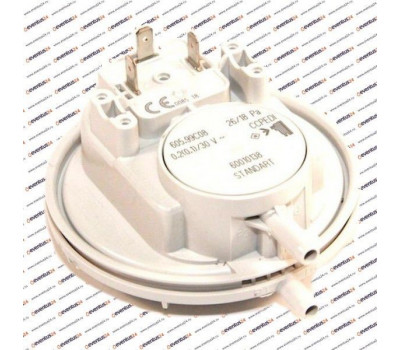 Реле давления воздуха, датчик тяги (прессостат) HUBA 65/50 (65100716, 0020118742)