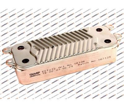 Теплообменник ГВС SWEP 16 пластин (0020097179, 0020038572)