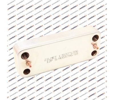 Теплообменник ГВС Zilmet 2071206 - 12 пластин 207 x 166 (571646, 711612800)