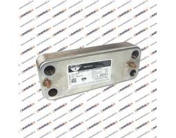 Теплообменник ГВС Zilmet 2071432 - 14 пластин 207 x 172 (87054062870)
