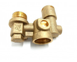 Корпус датчика протока воды (аквасенсора) Vaillant TurboMax Pro-Plus, VUW (194819)