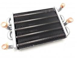 Теплообменник битермический подходит для BAXI Main 5 14, 18, 24 кВт 710537600