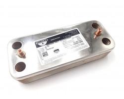 Теплообменник ГВС 17B1901444 (производитель - ZILMET) подходит для ARISTON
