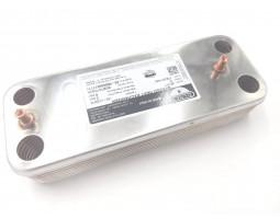 Теплообменник ГВС 17B2071400 (производитель - ZILMET) подходит для BAXI/WESTEN