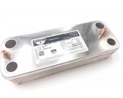 Теплообменник ГВС (производитель - ZILMET) подходит для BOSCH GAZ 3000 W / BUDERUS/ JUNKERS