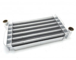 Теплообменник первичный подходит для BAXI Fourtech, Eco four, Eco-3 compact / WESTEN Pulsar 5677660