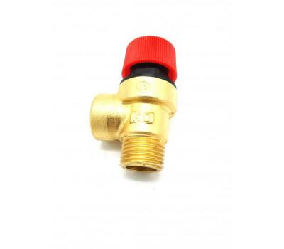 Предохранительный клапан 3 бар, резьба 1/2 BAXI 9950600, FONDITAL 6VALSIBA03, FERROLI