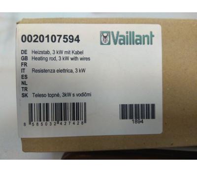 ТЭН, 3 кВт с кабелем [0020107594],VAILLANT/ PROTHERM