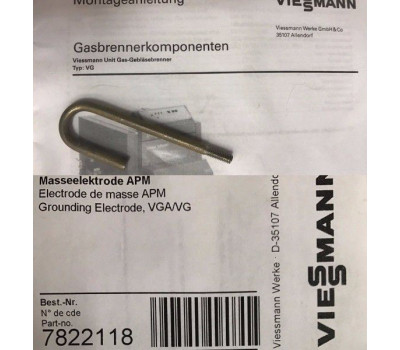 Электрод массы для газовой горелки 7822118